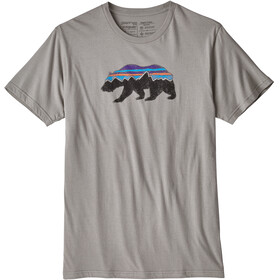 Patagonia M's Fitz Roy Bear Organic T-Shirt Feather Grey